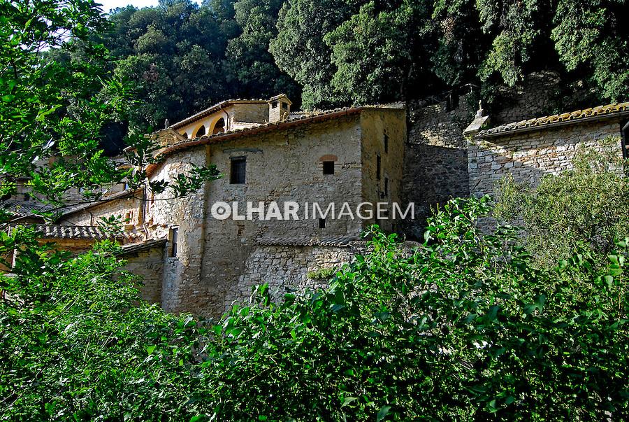 Eremitério de São Francisco em Assis. Umbria. Itália. 2006. Foto de Luciana Whitaker.