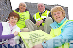 STEP IT OUT: Preparing for the annual Kerry Hospice Foundation walk in Listowel on Good Friday, l-r: Mary O'Connor, Batt O'Keeffe, John Crohan, Kay Hanley.
