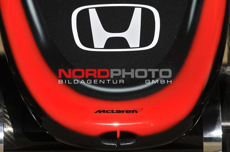 07.05 - 09.05.2015, Circuit de Catalunya, Barcelona, ESP, Formel 1, 2015,  im Bild  McLaren Honda MP4-30<br />  Foto &copy; nph / Mathis