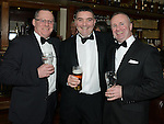 Eddie Lyons, Phelim Reilly and Victor Martin pictured at Wayne Sadlier's birthday in Daly's Donore. Photo:Colin Bell/pressphotos.ie