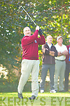 Mike Connor Dunloe tees off at the in the Nines Kerry final in Castlerosse Golf Course on Saturday   Copyright Kerry's Eye 2008