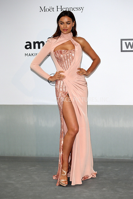 ACEPIXS.COM<br /> <br /> May 21 2014, Cannes<br /> <br /> Irina Shayk arriving at amfAR's 21st Cinema Against AIDS Gala during the 67th Cannes International Film Festival at Hotel du Cap-Eden-Roc on May 21 2014 in Cap d'Antibes, France<br /> <br /> By Line: Famous/ACE Pictures<br /> <br /> ACE Pictures, Inc.<br /> www.acepixs.com<br /> Email: info@acepixs.com<br /> Tel: 646 769 0430