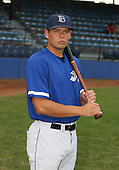 July 14th, 2007:  Joe Nowicki of the Aberdeen Ironbirds, Class-A Short-Season affiliate of the Baltimore Orioles, poses for a photo before a game vs the Jamestown Jammers in New York-Penn League action.  Photo Copyright Mike Janes Photography 2007.