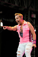 LONDON, ENGLAND - JULY 10: Ian &quot;H&quot; Watkins of 'Steps' performing at Kew the Music, Kew Gardens on July 10, 2018 in London, England.<br /> CAP/MAR<br /> &copy;MAR/Capital Pictures