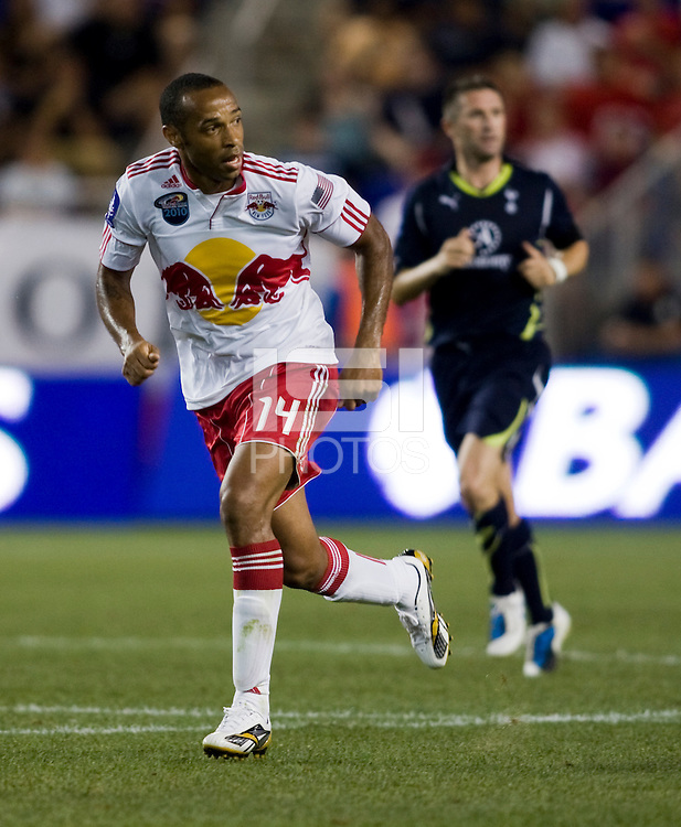 Thierry Henry. Tottenham defeated the New York Red Bulls, 2-1.