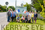 The Abbeyfeale Volunteers on the way to the 1916 Commemorative Garden.