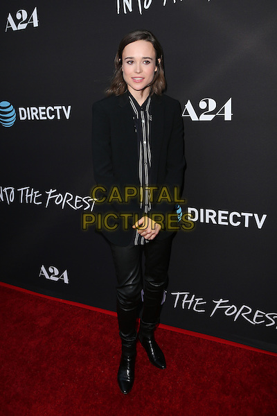 Hollywood, CA - June 22 Ellen Page Attending Premiere Of A24's &quot;Into The Forest&quot; at The ArcLight Cinemas On June 22, 2016. <br /> CAP/MPI/SAD<br /> &copy;SAD/MPI/Capital Pictures
