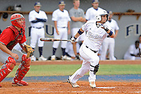 16 May 2010:  FIU's Raiko Alfonso (5) bats in the fourth inning as the FIU Golden Panthers defeated the University of South Alabama Jaguars, 5-0, at University Park Stadium in Miami, Florida.