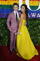 09 June 2019 - New York, NY - Ben Cook and Ashley Park. 73rd Annual Tony Awards 2019 held at Radio City Music Hall in Rockefeller Center. Photo Credit: LJ Fotos/AdMedia