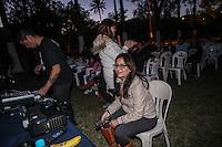 Las delicias de Cine Mexicano en Casa de las Delicias con Monica Luna, durante tercer d&iacute;a de actividades de el Festival Alfonso Ortiz Tirado (FAOT2017).<br />  &copy;Foto: Luis Guti&eacute;rrrez