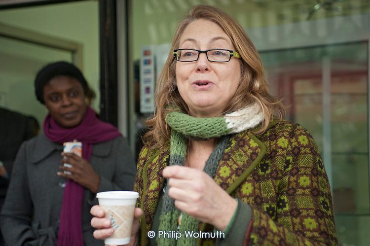 Helen Kay, Westbourne Neighbourhood Forum. . Westbourne Parade after shopfront, pavement and street furniture improvement scheme.