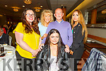 Saoirse Murphy with Lisa Hickey, Mary, Matthew and Kathlyn Murphy at the Irish Wheelchair Association Summer party in the Ballyroe Heights Hotel on Sunday