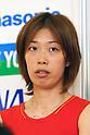 Satoko Suetsuna (JPN), .June 9, 2012 - Badminton : .Badminton Japan National Team Send-off Ceremony for the London Olympics 2012 .in Tokyo, Japan. .(Photo by Daiju Kitamura/AFLO SPORT) [1045]