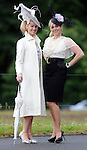 Emir IrwinÊ O'Shea, left, a  a former winner of the Killarney Races Queen of Fashion and her sister Coldagh Irwin Owens, who run an online clothes designers business.  Picture: Eamonn Keogh (MacMonagle, Killarney)