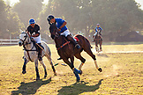 MEXICO, San Pancho, San Francisco, La Patrona Polo Club action from the first afternoon match