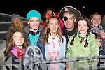 Maureen Duffy, Roisin O'Shea, Roisin Hayes, Tony Óg Duffy, Hannah Kate Duffy Cromane having fun at the Knocknagoshel Halloween festival on Sunday night