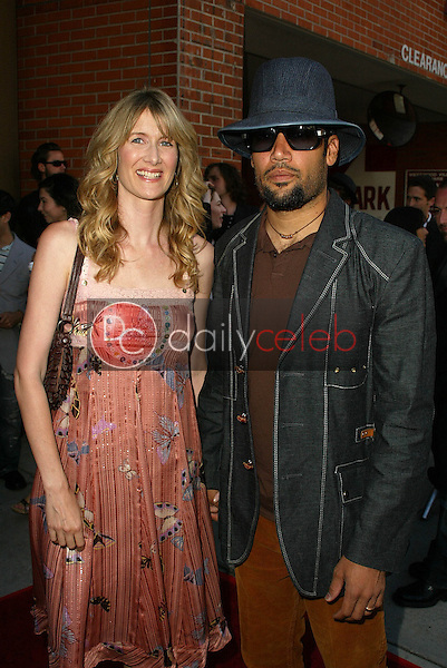 Laura Dern and Ben Harper<br />