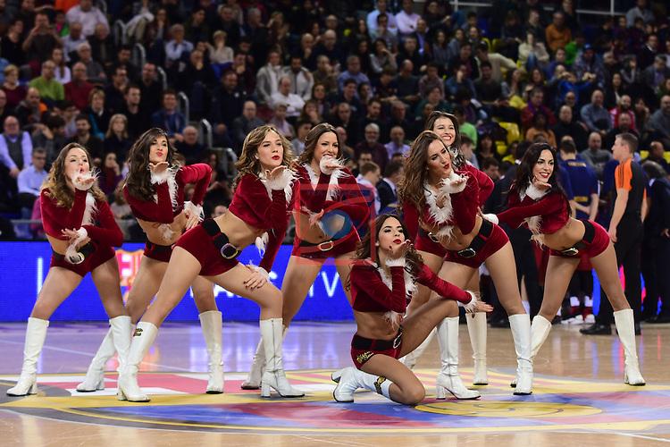 Turkish Airlines Euroleague 2016/2017.<br /> Regular Season - Round 15.<br /> FC Barcelona Lassa vs Darussafaka Dogus Istanbul: 81-77.