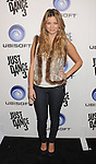 """LOS ANGELES, CA - OCTOBER 04: Amber Lancaster arrives at the launch of """"Just Dance 3"""" at The Beverly on October 4, 2011 in Los Angeles, California."""