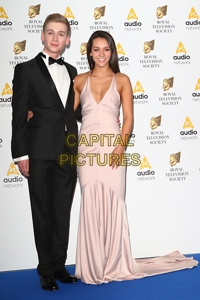 Nadine Mulkerrin and Richard Linnell at the RTS Programme Awards 2017 at Grosvenor House, Park Lane, London on the 21st March 2017<br /> CAP/ROS<br /> &copy;Steve Ross/Capital Pictures