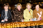 Mary Arnopp, Sheila Fitzgerald,  Mary Kelly, Ann Carney enjoying Kerry Choral Union with  Junior Choir at a  St Patrick's Weekend concert in aid of Recovery Haven, Kerry Cancer Support House at St. Brendan's Church Tralee on Sunday
