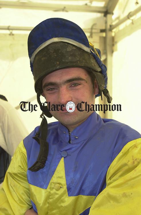Brian Hassett jockey. Photograph b y John Kelly.