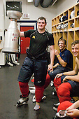 Cade Fairchild - Blake Kessel, Cam Fowler -Team Red earned the most points during the scrimmage part of the camp which concluded on Monday, August 4, 2008, in Lake Placid, New York.