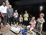An Taoiseach leo Varadkar meets some children at Fleadh Ceoil na hEireann. Photo:Colin Bell/pressphotos.ie