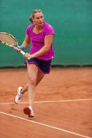 August 17, 2014, Netherlands, Raalte, TV Ramele, Tennis, National Championships, NRTK,  Danielle Harmsen (NED)<br /> Photo: Tennisimages/Henk Koster