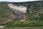 The Moosehide Slide, Near Dawson City, The Yukon Territory, Canada,