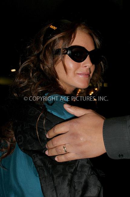 WWW.ACEPIXS.COM . . . . .  ....NEW YORK, MAY 8, 2006....Lindsay Lohan visits TRL.....Please byline: NANCY RIVERA- ACEPIXS.COM.... *** ***..Ace Pictures, Inc:  ..Craig Ashby (212) 243-8787..e-mail: picturedesk@acepixs.com..web: http://www.acepixs.com