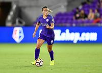 Orlando, FL - Saturday July 07, 2018: Monica Hickman Alves during the first half of a regular season National Women's Soccer League (NWSL) match between the Orlando Pride and the Washington Spirit at Orlando City Stadium.
