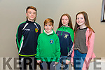 Tralee Warriors  celebration night after winning Champions Trophy at Meadowlands Hotel on Friday. Pictured l-r Liam Kingston, Cian O'Shea, Mira Kingston, Ciara Rath