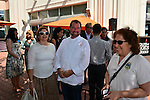 MIAMI, FL - MARCH 02: Chef Allen Susser and wife attends Books & Books at the Arsht Center Grand Opening Ribbon Cutting Ceremony And Party on Thursday, March 02, 2015 in Miami, Florida. ( Photo by Johnny Louis / jlnphotography.com )