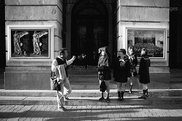 Warszawa 23 september - 24 october 2005 Poland<br /> The Fryderyk Chopin International Contest taking place every five years in Warsaw is the most prestigious musical event in the world. This year a record high number of contestants has applied - 257 musicians from 35 countries. <br /> ( &copy; Filip Cwik / Napo Images for Newsweek Polska )<br /> <br /> Warszawa 23 wrzesien - 24 pazdziernik 2005 Polska<br /> 15 Miedzynarodowy Konkurs Pianistyczny im. Fryderyka Chopina. Konkurs odbywa sie co piec lat i jest to najbardziej prestizowa impreza pianistyczna na swiecie. Nalezy do swiatowej elity wydarzen muzycznych. W tym roku na Konkurs zglosila sie rekordowa liczba uczestnikow - 257 muzykow z 35 krajow. <br /> ( &copy; Filip Cwik / Napo Images dla Newsweek Polska )