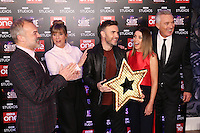 "Graham Norton, Mel Giedroyc, Gary Barlow, Dannii Minogue and Martin Kemp<br /> at the ""Let it Shine"" launch, Ham Yard Hotel, London.<br /> <br /> <br /> ©Ash Knotek  D3214  13/12/2016"