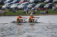 Race: 62  Event: J16 2x   Final A <br /> <br /> Junior Inter Regional Regatta 2018<br /> <br /> To purchase this photo, or to see pricing information for Prints and Downloads, click the blue 'Add to Cart' button at the top-right of the page.