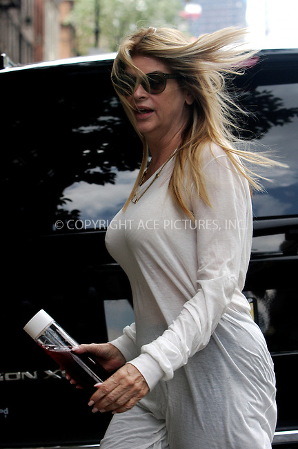 WWW.ACEPIXS.COM . . . . .  ....June 27 2011, New York City....Actress Kirstie Alley arriving at her Tribeca hotel on June 27 2011 in New York City....Please byline: NANCY RIVERA- ACEPIXS.COM.... *** ***..Ace Pictures, Inc:  ..Tel: 646 769 0430..e-mail: info@acepixs.com..web: http://www.acepixs.com