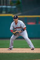 Pawtucket Red Sox first baseman Allen Craig (5) during a game against the Rochester Red Wings on July 1, 2015 at Frontier Field in Rochester, New York.  Rochester defeated Pawtucket 8-4.  (Mike Janes/Four Seam Images)