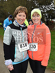 Adrienne Lennon and Ann Reynolds who took part in Erin's Run. Photo:Colin Bell/pressphotos.ie