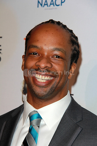 PASADENA, CA - FEBRUARY 5: Jericho Brown at the 46th NAACP Image Awards Non-Televised Ceremony at the Pasadena Convention Center in Pasadena, California on February 5, 2015. Credit: David Edwards/Dailyceleb/MediaPunch