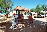 Fort Apache, Arizona once home to the U.S. Cavalry today is home to their captives the White Mountain Apache Tribe which was devastated last summer by the Rodeo fire and who next week will argue in the U.S. Supreme Court that the Bureau of Indian Affairs has allowed the fort to deteriorate into ruin at their expense. The Tribe hopes to bolster reservation economy using the world hertiage site and center of the Indian Wars as a tourist attraction in Arizona's White Mountain just 30 miles south of Show Low a popular.Arizona retreat.
