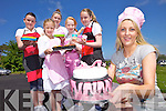 Amy Brick from Amy Bakes Novelty Cakes and is planning two summer camps to teach kids how to bake this July. Back l-r were: Katie Cahill, Caitlyn Brick, Shauna Kealy, Nicola Dodson and Geri O'Carroll.