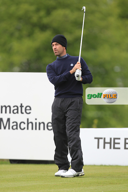 Eduardo De La Riva (ESP) during Thursday's Round 1 ahead of the 2016 Dubai Duty Free Irish Open Hosted by The Rory Foundation which is played at the K Club Golf Resort, Straffan, Co. Kildare, Ireland. 19/05/2016. Picture Golffile | TJ Caffrey.<br /> <br /> All photo usage must display a mandatory copyright credit as: &copy; Golffile | TJ Caffrey.
