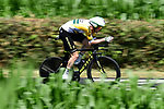 Australian Champion Luke Durbridge (AUS) Mitchelton-Scott in action during Stage 13 of the 2019 Tour de France an individual time trial running 27.2km from Pau to Pau, France. 19th July 2019.<br /> Picture: ASO/Alex Broadway | Cyclefile<br /> All photos usage must carry mandatory copyright credit (© Cyclefile | ASO/Alex Broadway)