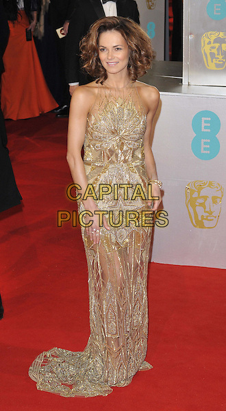 LONDON, ENGLAND - FEBRUARY 08: Kara Tointon attends the EE British Academy Film Awards 2015, Royal Opera House, Covent Garden, on Sunday February 08, 2015 in London, England, UK. <br /> CAP/CAN<br /> &copy;Can Nguyen/Capital Pictures