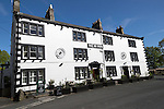 New Inn pub and hotel, Clapham village, Yorkshire Dales national park, England