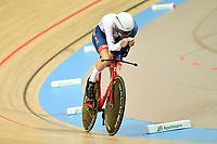 Picture by SWpix.com - 02/03/2018 - Cycling - 2018 UCI Track Cycling World Championships, Day 3 - Omnisport, Apeldoorn, Netherlands - Men's Individual Pursuit - Charlie Tanfield of Great Britain