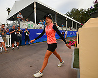 Pernilla Lindberg, of Sweden, after finishing her 3rd round and heading to the scorers booth, during the third round of the ANA Inspiration at the Mission Hills Country Club in Palm Desert, California, USA. 3/31/18.<br /> <br /> Picture: Golffile | Bruce Sherwood<br /> <br /> <br /> All photo usage must carry mandatory copyright credit (&copy; Golffile | Bruce Sherwood)during the second round of the ANA Inspiration at the Mission Hills Country Club in Palm Desert, California, USA. 3/31/18.<br /> <br /> Picture: Golffile | Bruce Sherwood<br /> <br /> <br /> All photo usage must carry mandatory copyright credit (&copy; Golffile | Bruce Sherwood)