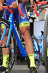Wanty-Groupe Gobert on stage at the Team Presentation in Burgplatz Dusseldorf before the 104th edition of the Tour de France 2017, Dusseldorf, Germany. 29th June 2017.<br /> Picture: Eoin Clarke | Cyclefile<br /> <br /> <br /> All photos usage must carry mandatory copyright credit (&copy; Cyclefile | Eoin Clarke)